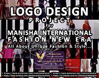 LOGO DESIGNS FOR MANISHA INTERNATIONAL FASHION NEW ERA