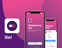 Go! Ride App UI - Full Case Study
