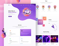 Landing Page(Figma and Web Dev)