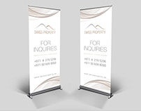 Modern and elegant banner for a Real Estate development