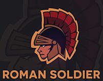 Mascot Logo - Roman Soldier