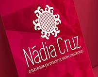 Nádia Cruz - Identidade visual