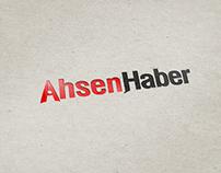 AhsenHaber Logo Çalışması