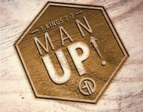 Logo: Man Up Conference