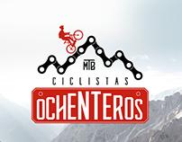 Ciclistas Ochenteros | Branding