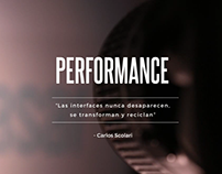 Narrativas Transmedia - Performance
