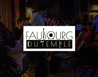 Logotype - Faubourg du temple
