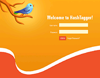 Website for Twitter metrics tool - Hashtagger