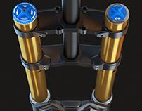 3D Modeling - Downhill Fork Fox 40