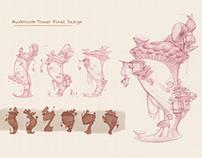 Mushroom Tower concept art
