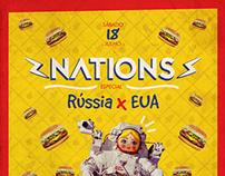 Nations #2 | Rússia x EUA