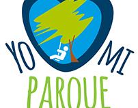"""Logo """"Yo Amo mi Parque"""""""