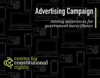 Center for Constitutional Rights - Advertising Campaign