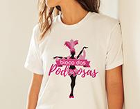 T-Shirt   Lolita Boutique - Bloco das Poderosas