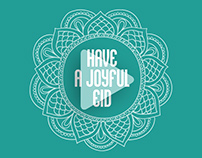 Have a Joyful Eid (Looping post)