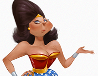 Character Design - Wonder Woman