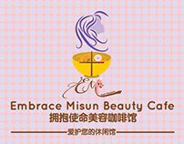 Embrace Misun Beauty Cafe Name Card Design