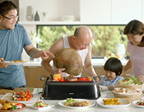 Philips - Smokeless Grill Heros