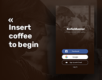 Daily UI/UX - Networking app for Barista