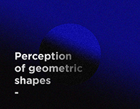 Perception of geometric shapes - Posters collection