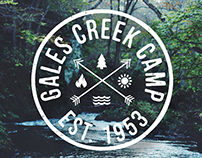 Gales Creek Camp | Branding