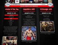 707 Fitness Member Site