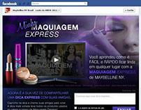 Aplicativo no Facebook para Maybelline Brasil