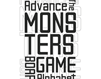 Advance The Monsters | Free Font