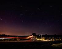 Stars over the Redcar Tarn