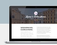Rome's Colisehome apartment - WEBSITE