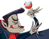 Revista ¡elé! - Terror Characters Dracula