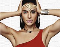 Gal Gadot Pop Art