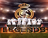 Real Madrid Legends App Game