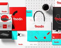 Modn brand design.