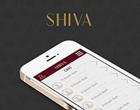 UI/UX // Shiva App //