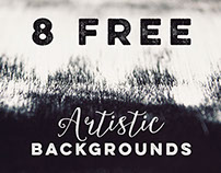 8 Free Artistic Backgrounds