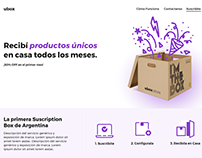 Landing Page — ubox