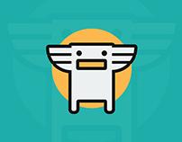 Tøtem Game app | Rythm trash can
