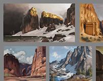 Landscapes master studies