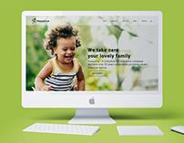 Happylice-Website UI Design