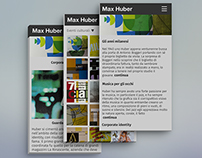 Max Huber monography website.