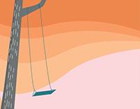 Swinging in a Tree