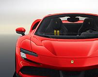 2020 Ferrari SF90 Stradale Spider