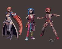 3d printable anime characters