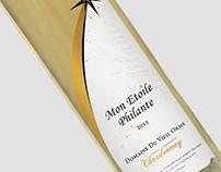 Mon Etoile Philante - Wine label