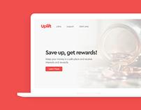 Uplift Landing Page UI Design