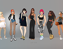 Poppy Project : Line Up Characters