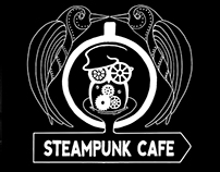 Steampunk cafe - Mural and video