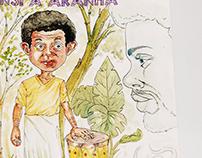Livro Ilustrado - Anansi