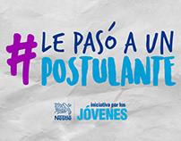 Nestlé | #LePasóAUnPostulante